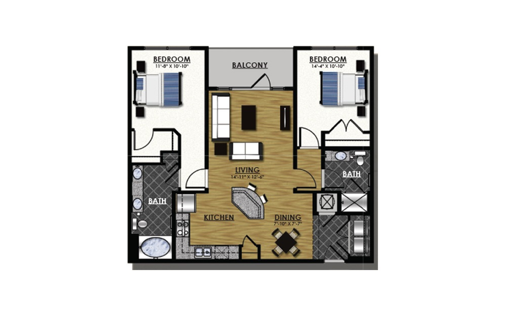 C2-5 | Durham Apartments | Studio, 1, 2 Bedroom Apartment Homes for Floor Plans Bedroom Apartment Townhouse on townhouse floor plan layouts, townhouse double floor plans, five-story townhouse floor plans, townhouse floor plan with office, small 2 bedroom apartment plans, quadplex apartment floor plans, 4 bedroom open floor plans, small house plans, 4-plex apartment plans,