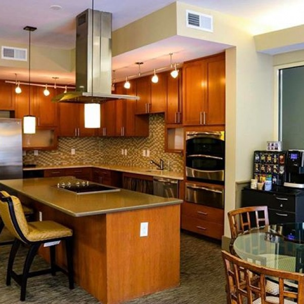 #FunFact: we have a 13,000 sf resident clubhouse! There's PLENTY of room for our residents to entertain their guests.