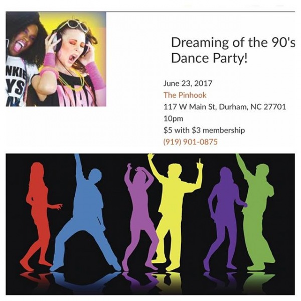 We all remember the 90's. Stop by this Dance Party Tonight and enjoy your favorite 90's music hits. #trinitycommons