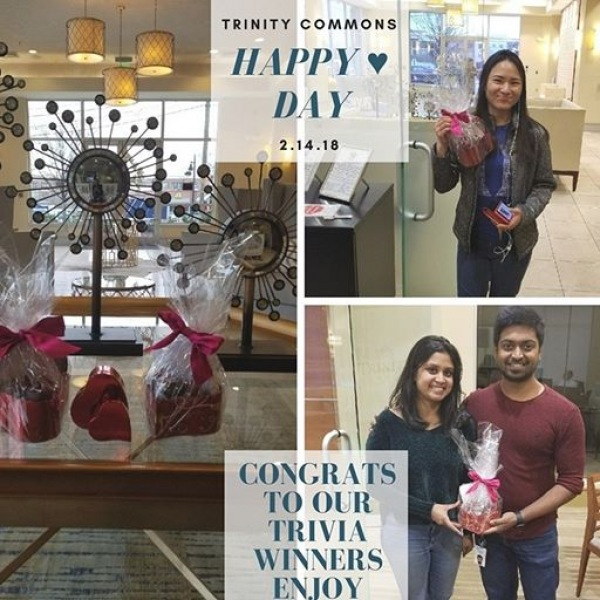 We want to spread love to each and everyone one of you today. Happy Valentine's Day!!! ♥ #TrinityCommons #ThisIsNWRLiving
