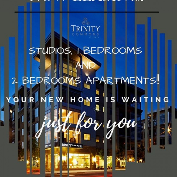 NOW LEASING! Trinity Commons has studios, 1 & 2 Bedrooms available. CALL TODAY (919) 309-1409!