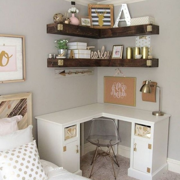 Looking for great ideas for design your apartment at Trinity Commons? Look at these amazing ideas for storage space and decorating options. www.roomadness.com/2018/04/02/30-amazing-college-apartment-bedroom-decor-ideas/