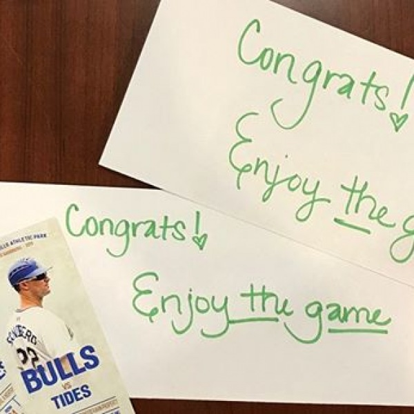 We love our residents! We hope you have a great time at the Durham Bull's games this weekend! #trinitycommons #thisisNWRliving #durhambulls #ditydurham #americasgame