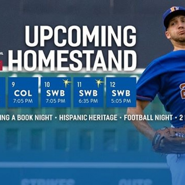 The Durham Bulls return tomorrow for a big homestand run. Go cheer on our neighbors every night from 8/7-12 check out https://www.milb.com/durham for more information #thisisNWRliving #trinitycommons #DurhamBulls #BullCity #durm