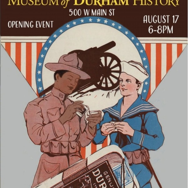 Opening event for Durham During the Great War is tonight from 6:00pm to 8:00pm at the Museum of Durham History. The exhibit examines how social, economic, and political changes in Durham during the war left a lasting legacy of future movements toward equality. Visit https://history.duke.edu/events/durham-during-great-war #thisisNWRliving #trinitycommons #Durham