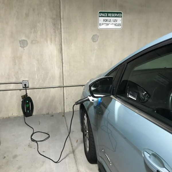 If you are a plug in hybrid owner, then we have an amenity just for you! In our attached parking garage, we have outlets and parking spots designated just for you and your beloved LE vehicle. Stop in and check out all of our green features! #thisisNWRliving #trinitycommons #lowemission #hybrid #communityammenities